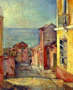 PINTORES LATINOAMERICANOS-JUAN CARLOS BOVERI: pintores venezolanos: monsanto antonio edmundo