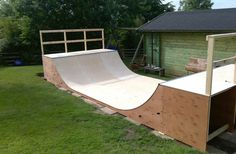 Flat+Packed+Mini+Ramp+Halfpipe+Kits+By+Four+One+Four+Skateparks+Skate/BMX/Scoot