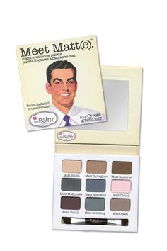 Paleta de sombras Meet Matt | The Balm