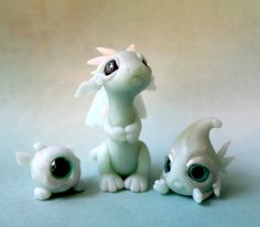 I'm making a bunch of little scrap dragons for one last sale before Christmas. They're usually just singles, but I thought it'd be cute to make a couple. Their tails form a heart behind them I'll p...