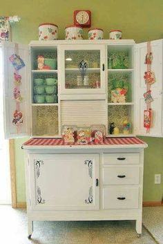 Kitchen Cabinets Vintage gorgeous vintage metal kitchen cabinet! love love this. | for