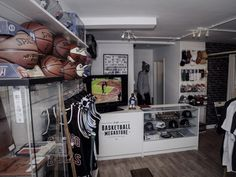 Brand new basketball store - open March 2015 - Newcastle-upon-Tyne.  Photo credit: Richard Oakland