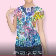 Discover a gorgeous t-shirt - Autumn Forest, Limited Edition Women's All Over T-Shirt by Jean Batzell Fitzgerald - From $49 - Curioos