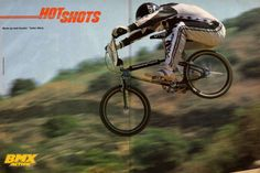 Diamondback Harry Leary old school bmx | ... to get a real bike?: BMX Action--July 1984--Part Two--Harry Leary