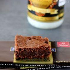 Dark Chocolate Brownies GF