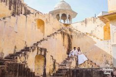 Purva & Shivam Pre-Wedding Shoot Jaipur, February 2017 It's such a delight when clients trust your vision and go along with what you have planned for a particular shoot. Since the time we had seen Panna Meena ki Baoli, we were longing to play around...