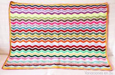 Ripple Blanket finished! :)