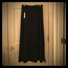 Ankle length black skirt Brand new Philosophy Skirts Maxi