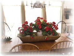 Love geraniums!