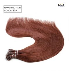 Micro ring hair extensions 14 dark blonde straight wave brazilian micro ring hair extensions 33 dark aubum straight wave brazilian hair unprocessed virgin remy nano pmusecretfo Images