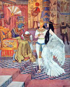 "The Mud-King's Daughter. Frontispiece by Artuš Scheiner to ""Andersen's Fairy Tales"" (1934)"