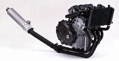 Honda CBR250RR MC14e 249 cc 16 valve liquid cooled inline four engine