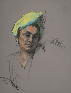 Judith Carducci Portrait and Figure Drawings