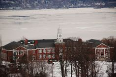 My Alma Mater.  Nyack High School in Nyack, NY.  It's no longer the local high school but still as beautiful as ever!!  Photo by Wendy McDonagh-Valentine.