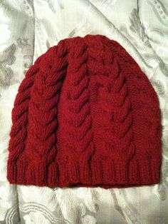 Marigold Slouch Hat By Devin Lynch - Free Knitted Pattern - (ravelry)