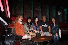 L.A. Witch, Ellie English,Sade Sanchez, Irita Pai with Phil Cartwright, Jessica Brassington