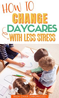 Thinking about switching daycares? Changing your daycare provider can be tough on kids AND moms! So here are 7 tips and tricks to help your toddler transition to a new daycare with less stress. Choosing a daycare that's right for your child is so important so don't be afraid to make a change when needed!
