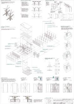 CEU San Pablo | Arquitectura PFC #arquitectura #dibujos #presentaciones