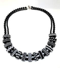 Jill Wiseman Designs - Carrier Bead Bead-A-Long Kit: Shades of Grey Bracelet, $35.00 (http://shop.jillwisemandesigns.com/carrier-bead-bead-a-long-kit-shades-of-grey-bracelet/)