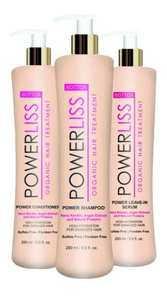 Home Care Line: Shampoo Anti Frizz, Conditioner Anti Frizz: Power Dream Especially created to maintain the Power Liss Bottox treatment. Formula developed to maintain and enhance the Progressive Brushing treatments. Anti Frizz, Brushing, Damaged Hair, Argan, Keratin, Serum, Shampoo, Conditioner, Hair