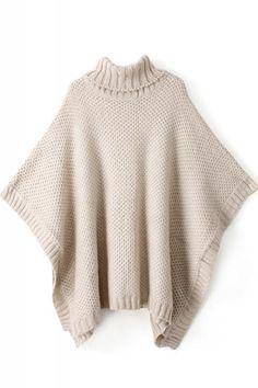 Turtleneck Loose Sweater