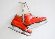 Vintage skates Germina skates EUR 39 UK 6 US 7 von MightyVintage