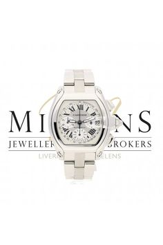 12852f00e3bf7 Cartier Gents Pre Owned Roadster 2618 Chronograph Cartier Roadster