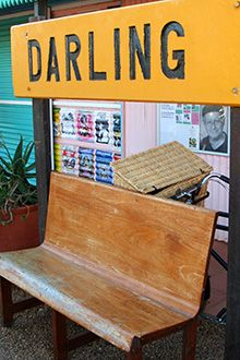 Darling - there's no better name for a town of colourful, warm-hearted residents who brim with joie de vivre...