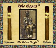 EPIC® CIGARS SHAPE CHRONICLE: THE GOLDEN VIRGIN TIME. EPIC® CIGARS NABONASSAR CHRONICLE: EPIC ALABARDA. EPIC® CIGARS REGISTERED IN DOMINICAN REPUBLIC,THE UNIQUE, AUTHENTIC, ORIGINAL AND LEGITIMATE EPIC® CIGARS BRAND, DR.