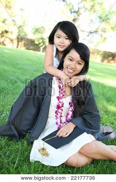Ahh my next graduation with my baby girl and my little man