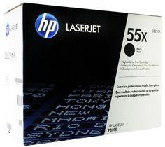 Black Friday HP 55X Black Original LaserJet Toner Cartridge from HP