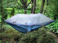 My boyfriend just told me that when he was a kid he slept in one of these, in the yard, for months until it ripped.
