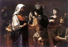 Valentin De Boulogne  The Fortune Teller  Italy (c. 1628)  Oil on canvas, 125 x 175 cm  Musée du Louvre, Paris  [x]
