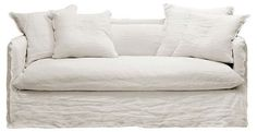 Look like the Ghost 15 sofa by Paola Navone, but without the same price tag (by Graine d'Intérieur)