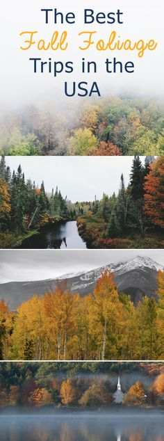 The Best Fall Foliage Trips in the USA