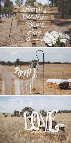 Rustic styling for country wedding | Leah Ladson Photography | See more: http://theweddingplaybook.com/classic-country-romance-wedding/