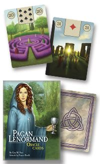 The #Pagan #Lenormand Oracle, by Lo Scarabeo