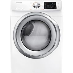 $547, stackable dryer (keeps all appliances either Samsung or Whirlpool!)   Samsung 7.5 cu. ft. Electric Dryer in White-DV42H5200EW - The Home Depot