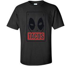 Deadpool Tacos Graphic T-Shirt
