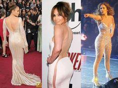 Armario de Noticias: El trasero de Jennifer Lopez perjudica a sus compa...