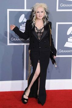 The most outrageous outfits in Grammys history: Cyndi Lauper, 2012
