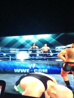 Kane Undertaker vs Finlay Santino