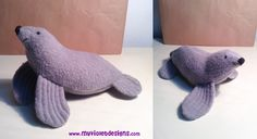 Lobo de mar My Violet :D myvioletdesigns.com