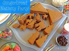 Ginger Bread Nativity Party- I'm so doing this when my kids are older!