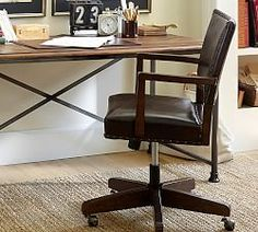 Desk Chairs & Home Office Chairs | Pottery Barn