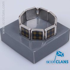 MacLaren Tartan Bracelet. Free Worldwide Shipping Available