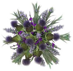 scottish silk like flower wedding flowers thistle flowers usa scottish wedding silk flowers Scottish Flowers, Scottish Thistle, Scottish Decor, Thistle Bouquet, Thistle Flower, Small Wedding Bouquets, Wedding Flowers, Scottish Heather, Scottish English