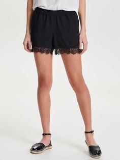 Lace shorts. SS Trens 2017