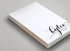 Personalised notebook | Gift Guide: Bridesmaids | SouthBound Bride | http://www.southboundbride.com/gift-guide-bridesmaids