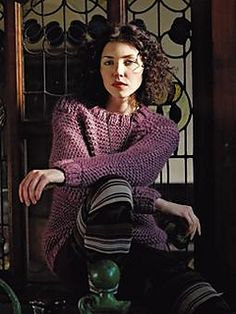 Knit this womens garter stitch sweater from Easy Winter Knits. A design by Martin Storey using the beautiful Drift, a wonderfully soft roving yarn made up wool. This knitting pattern is suitable for beginners. Roving Yarn, Deep Winter, Cashmere Wrap, Chunky Wool, Soft Summer, Knitting Designs, Digital Pattern, Pulls, Knitting Patterns